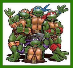 Having a TMNT themed party?!? This edible image will complete any cake for your sweet little ones celebration!!  **Add special message to edible