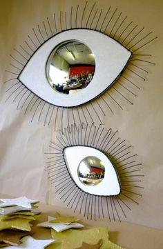 oeil de sorciere iris blanc effet illuminant dans la pièce