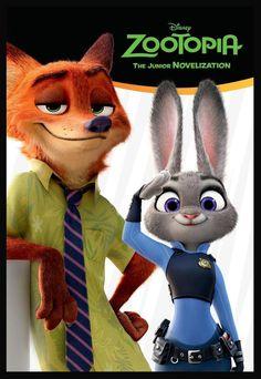 Jr. Novel #Zootopia book.  #Zootopie #Disney #Zootropolis #Zoomania  @DisneyAnimation