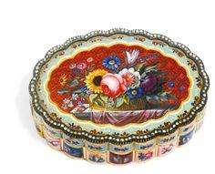 A jewelled gold and enamel 'Turkish market' snuff box, Geneva, circa 1830 | lot | Sotheby's