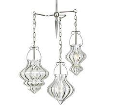Cristallo Glass Lighting, Modern Pendant Lighting