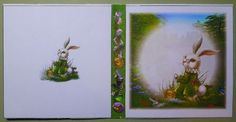 This is a wonderful series of cards with vibrant colour and suitable for so many occasions.  The white rabbit is always late so is the perfect choice for a belated something card, the caterpillar is always philosophising so is perfect for cards with a touch of worldly wisdom ('Don't worry, be happy' and other similar things) and the lonely hats can be for 'Thinking of you' or 'Missing you'' or other sentiments.  I printed the design on matte photo paper and cut out all the pieces.  I flat…
