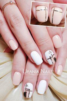 Line Nail Art http://blog.urania.com.tw/?p=920