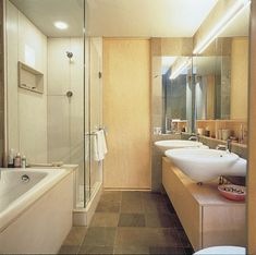 "bethroom ideas | TLC Home ""Bathroom Design Idea: Streamlining Tight Spaces"""