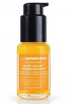 Editor Favorite: Ole Henriksen Truth Serum Collagen Booster ($48) @Oleander Barber Henriksen