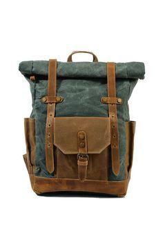 Unk&CO Backpacks - Mountaineer Rucksack Backpack, Travel Backpack, Leather Backpack, Laptop Backpack, Canvas Laptop Bag, Canvas Backpack, Urban Bags, Vintage Backpacks, Men's Backpacks