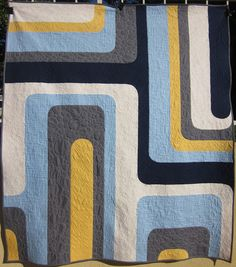 Quilter in the Closet: Boogie Fever - Totally Groovy Finish (Entry#3)