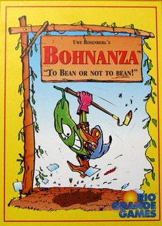 Bohnanza - fun card game where you are trading different types of beans.  Silly and the card art is fantastic.
