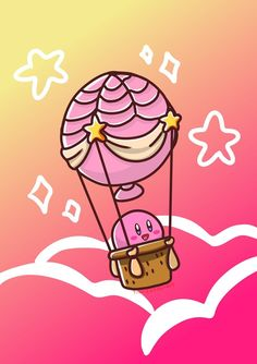 Kirbys Balloon by timeexplorers.deviantart.com on @DeviantArt