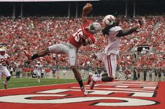 Ohio state , incredible catch!