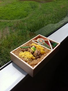 Japanese Ekiben (駅弁) are railway boxed meals sold at stations and on trains throughout Japan. They're incredibly popular — many people look forward to train travel just for the ekiben.