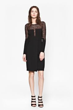 9c1064924a1 LAYLA LACE DRESS - Dresses - French Connection Canada Lace Dress Black