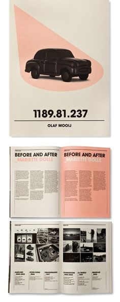 Before And After #Layout #Design in Editorial