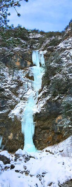 Isn't this Frozen Waterfall beautiful? :)