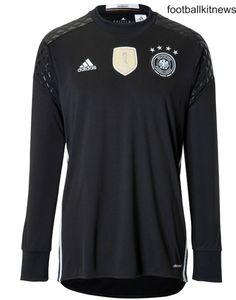 Germany Goalkeeper Shirt 2016 2017