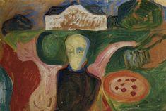 The Athenaeum - Symbolic Motif (Edvard Munch - )