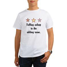 Falling asleep in the editing room. T-Shirt