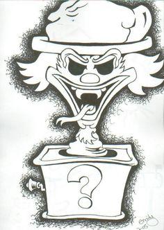 insane clown posse coloring pages - photo#27