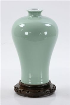 Chinese Mei Green Glazed Jar