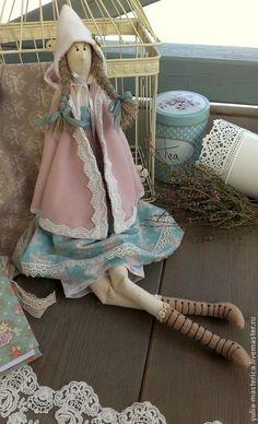 Куклы Тильды ручной работы. Дашенька. Интерьерная коллекционная текстильная кукла. тильда для интерьера. Интернет-магазин Ярмарка Мастеров. Кукла