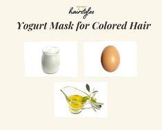 8 DIY Hair Masks with Simple Ingredients for Quarantine 2020 Diy Hair Mask For Dry Hair, Best Diy Hair Mask, Hair Mask For Damaged Hair, Hair Masks, Homemade Hair Dye, Homemade Masks, Diy Masque, Hydrate Hair, Easy Diy