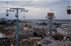 Toronto Then and Now: # 27 ~ Memories of the Canadian National Exhibition, Then and Now Meanwhile In Canada, Canadian Things, Toronto Ontario Canada, Time Photo, Seattle Skyline, Growing Up, 1970s, City, Nostalgia