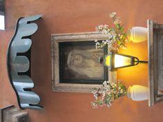 A little shrine on the beautiful Via Margutta: Rome, Italy