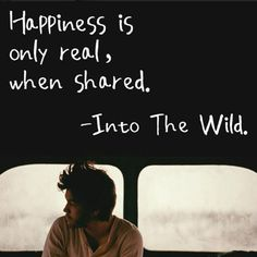 Agreed!  Which is the hardest part about being single.  I have a lot of things to share... Mainly my zest for life, laughter & love of adventure...