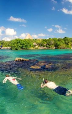 Your admission to Xel-Há includes unlimited snorkel. #RivieraMaya