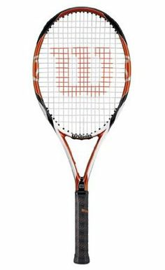 Wilson K-Tour (95) Strung No Cover (4 1/2 Grip Size) Closeout! by Wilson. $84.99. Endorsed by: Justine Henin and Lindsay Davenport. The [K]Tour is a great all-around frame for a wide range of player types. This light frame is also extended for a little more reach and power, however, it still offers a good amount of control. Groundstrokes and volleys will feel more solid and comfortable with this frame. It also has surprising maneuverability and the open string pat...