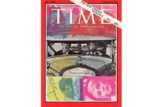 cover of time mag by rauschenberg.