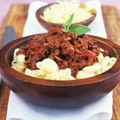 Easy Mince and macaroni for a quick meal