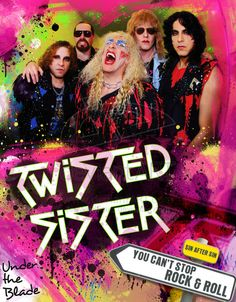Twisted Sister by MetalFaust