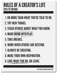 creators life