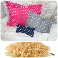 Babydecken - Kissen Zirbenkissen f. einen erholsamen Schlaf - ein Designerstück von me-kinderkleidung-und-ersatzbezuege bei DaWanda
