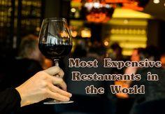 Most expensive restaurants in the world | http://FineHighLiving.com