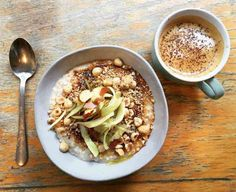 Hazelnut & Butter Porridge at 26 Grains in London