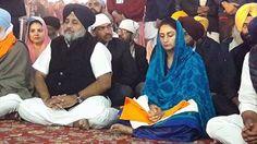 Community prayer during the 350th Parkash Purab at Sri Patna Sahib.