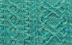 Aran Lace: Combining Knitting Traditions