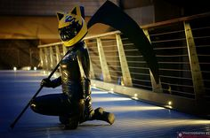 Gulper Eel as Celty on Flickr.