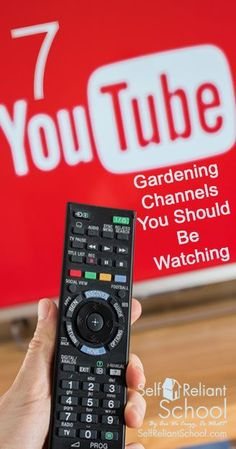Seven gardening and homesteading YouTube channels that you absolutely need  to follow.  beselfreliant Organic 6d33b1727