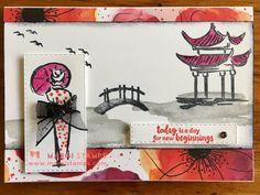 Stampin' Up! Asian Crafts, Stamping Up Cards, Japanese Geisha, Japanese Kimono, Kyoto Japan, Okinawa Japan, Creative Cards, Your Cards, Kit