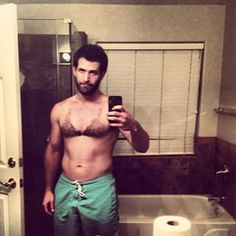 #ThisIsWhatBeingAManLooksLike | Men Shaving Their Chest Hair Into Bikini Tops Is The Trend You Didn't Ask For
