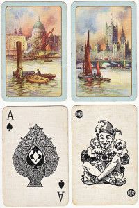 Vintage playing cards - Boats in Venice. Vintage Playing Cards, Boats, Vintage World Maps, Venice, Boating, Ships, Boat