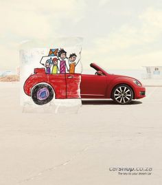 Auto-Kampagne 50 Clever Advertising Designs With A Story To Tell Creative Poster Design, Ads Creative, Creative Posters, Art Design, Creative Ideas, Graphic Design, Clever Design, Design Ideas, Clever Advertising
