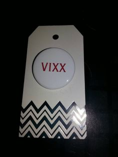 Check out this item in my Etsy shop https://www.etsy.com/listing/276623964/vixx-kpop-1-inch-pinback-button