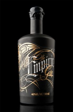 The Empiric (gin), from Arbutus Distillery on Packaging Design Served - design by Hired Guns Creative