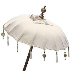Classic natural Balinese Umbrella