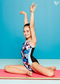 Perform with style in our oh-so-stretchy leotard collection. Choose from a selection of pretty prints.