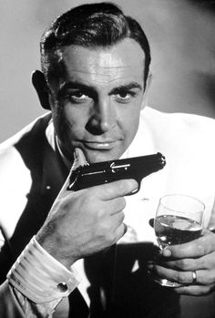 """Shaken not Stirred He personified """"hunkishness"""" and was so cool, mysterious and charming even men swooned when he entered the room. He never lost his sex appeal even as he grew older and his hair grew thinner. That thick Scottish accent didn't hurt either. They can make a million more 007 films but there was only one James Bond in my book: the great Sean Connery"""